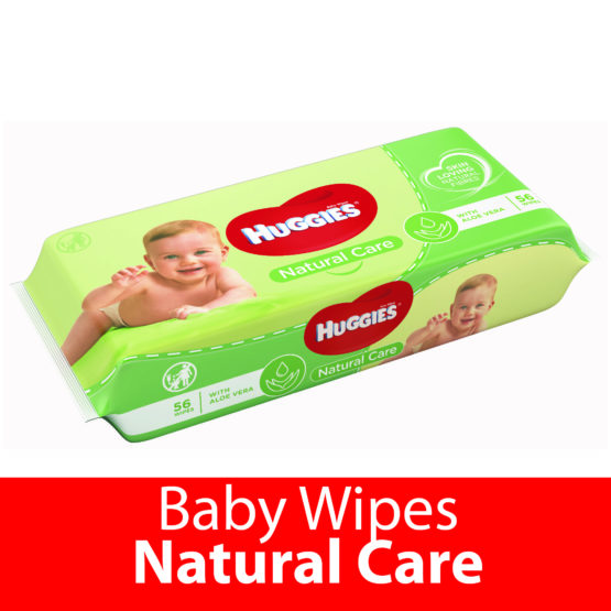 Huggies Baby Wipes Natural Care