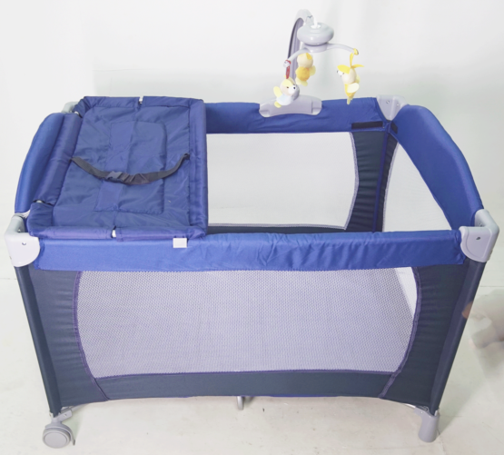 Playard and Travel Cot- Blue
