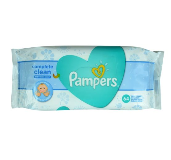 Pampers Baby Fresh Wipes Complete Clean
