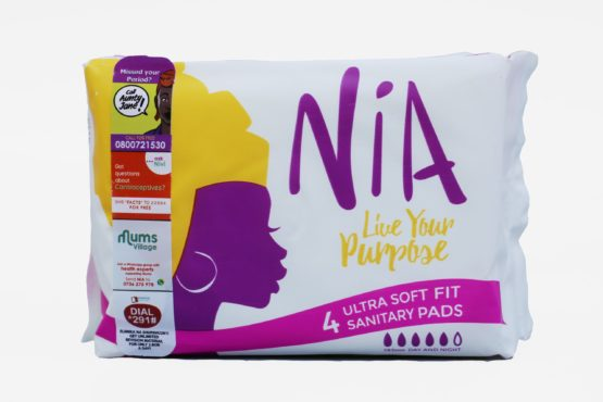 Nia 4 Ultra Soft Fit Sanitary Pads