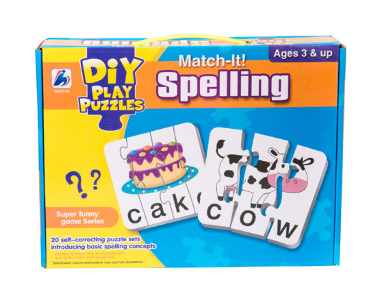 Match It Spelling Puzzle Set