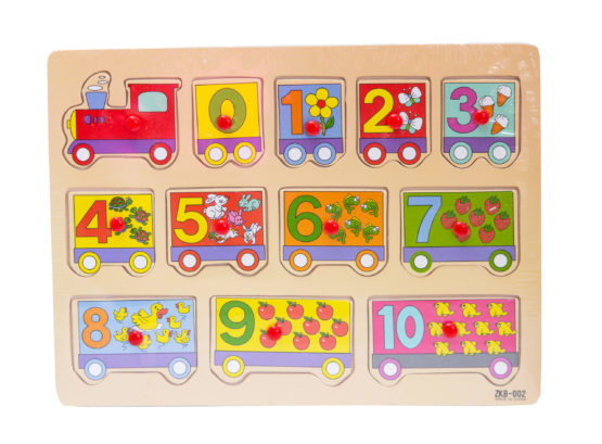 Train Wooden Puzzles