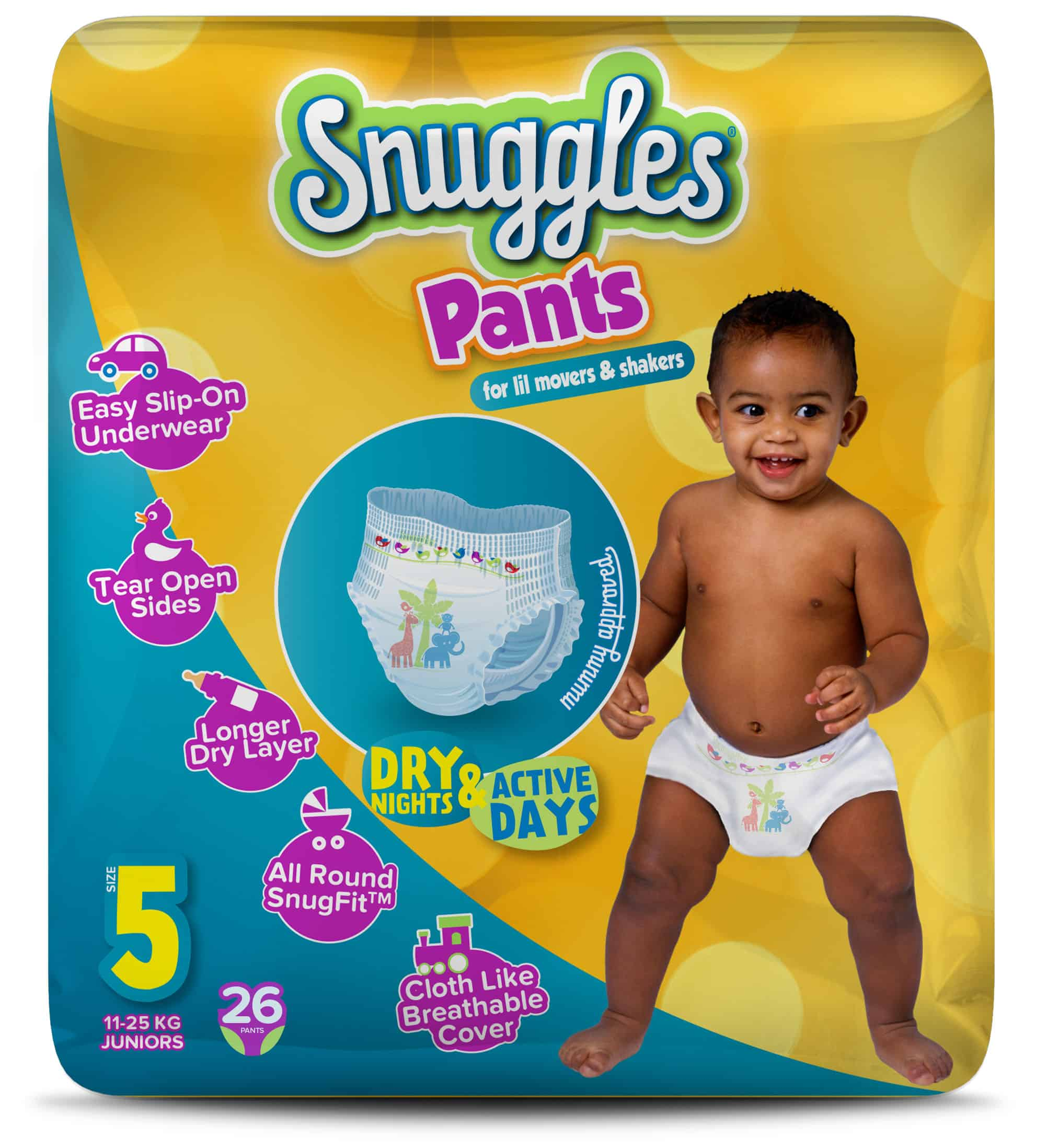 Snuggles baby pull ups