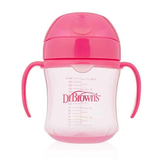 Dr. Brown's Transition Cup- Pink
