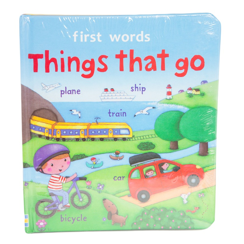 First Words Things That Go Board Book
