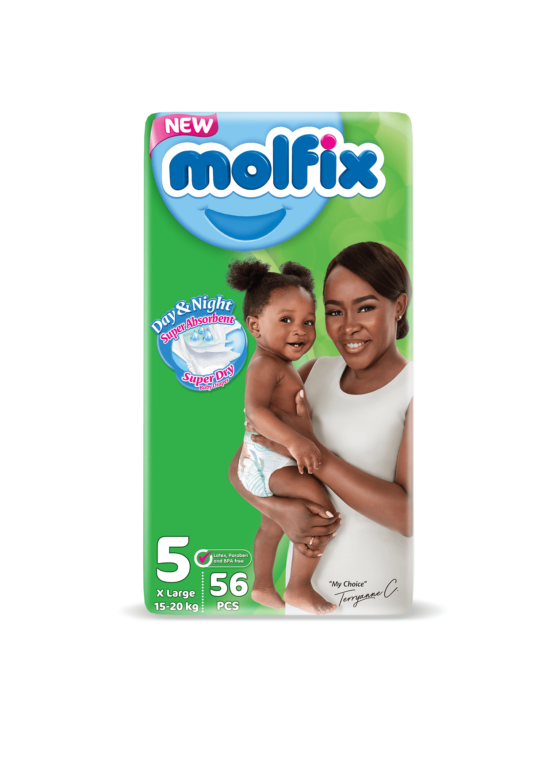 Molfix Day&Night Junior Size 5 – 56 Count