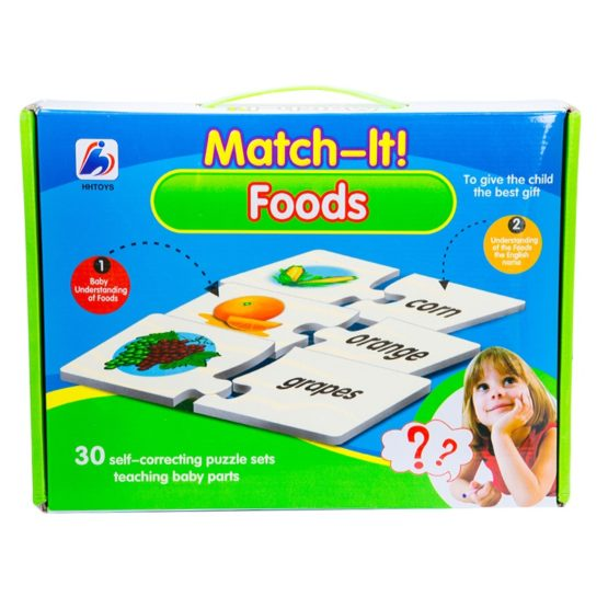 Match It Foods Puzzle Set