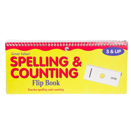Spelling & Counting Flip Book