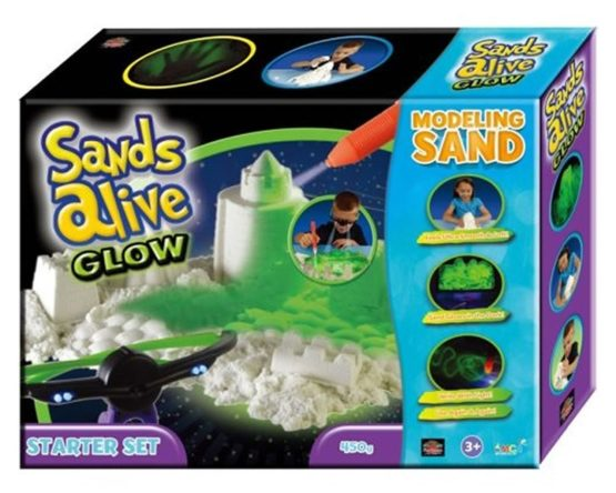 Kinetic Sand Glow in The Dark
