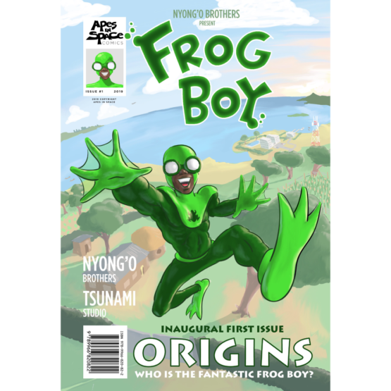 FrogBoy Animated Novel