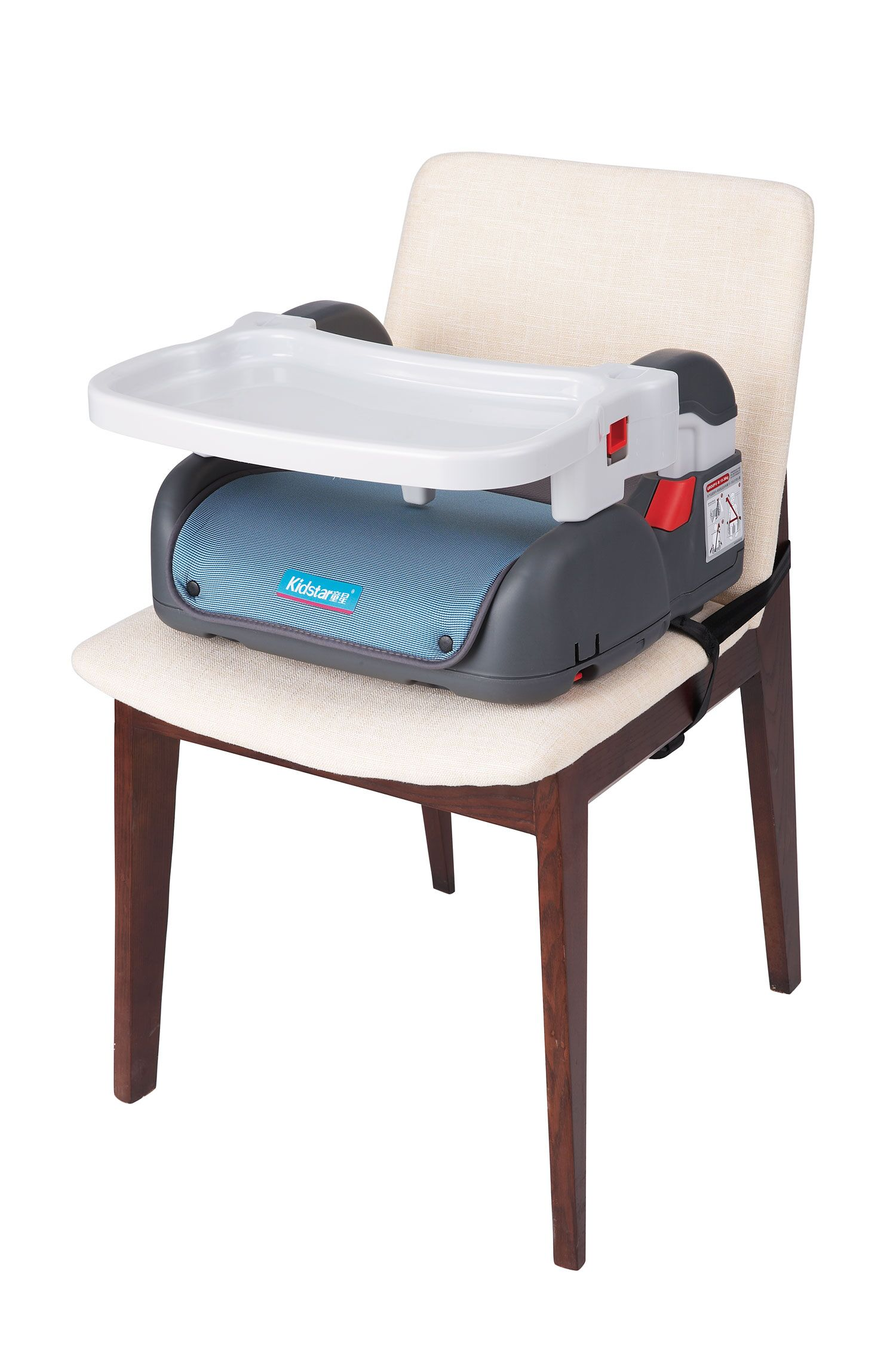Car Booster Seat With Feeding Tray