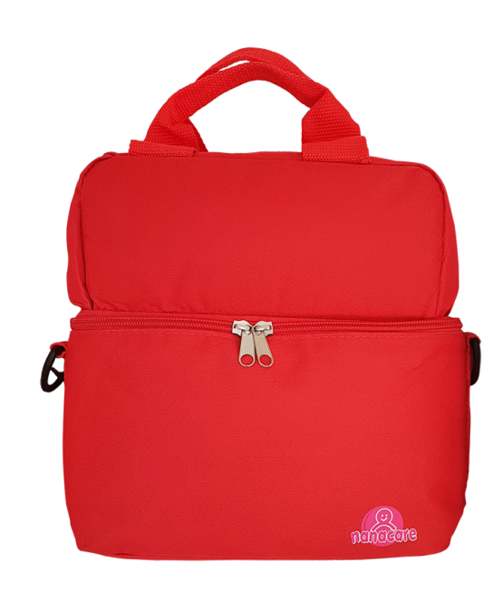 Nanacare Multipurpose Cooler Bag- Red