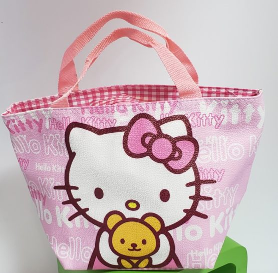 Pink Hello Kitty Lunchbag
