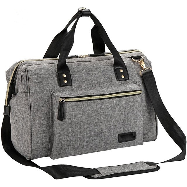 Grey Diaper Bag
