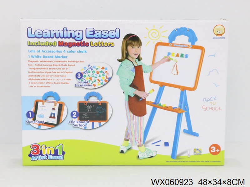 Magnetic Learning Easel Board