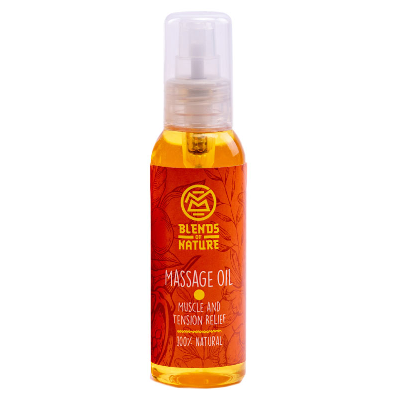 Blends Of Nature Muscle and Tension Relief Massage Oil 120ml