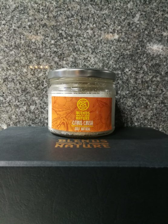 Blends of Nature Citrus Crush Body Scrub 250g