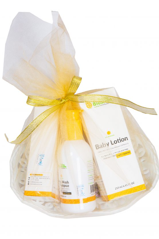 Baby Blossoms Gift Basket
