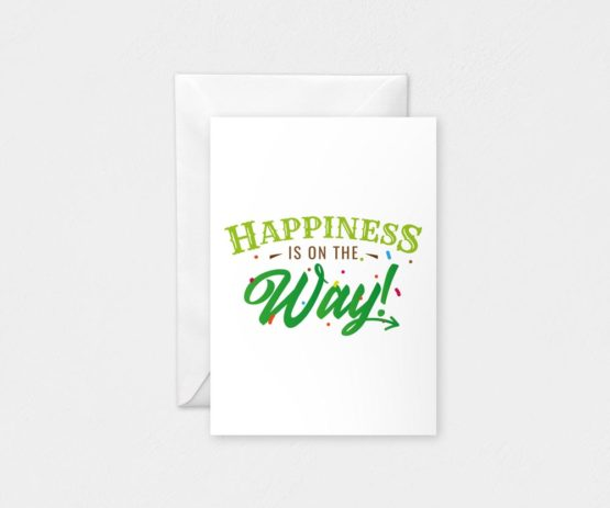 Happiness: A6 Card