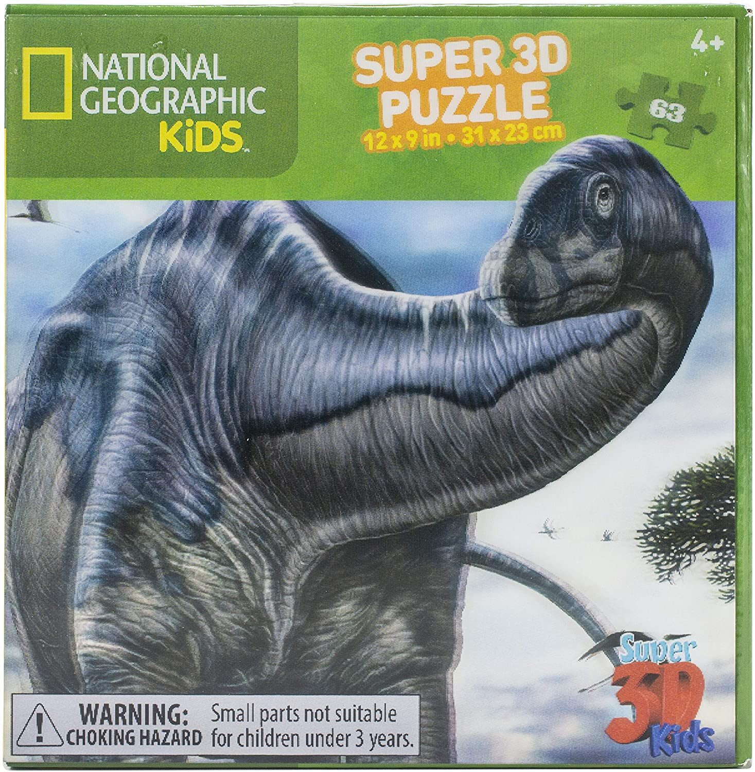 National Geographic Kids Argentinosaurus 3D puzzle