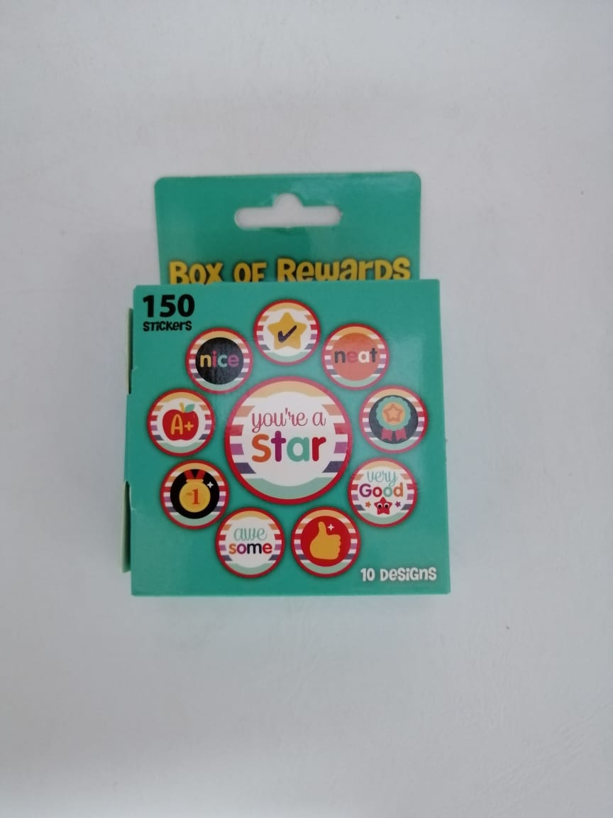 You're A Star Box of Rewards Stickers