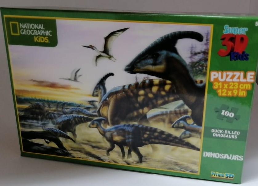 National Geographic Duck Billed Dinosaurs