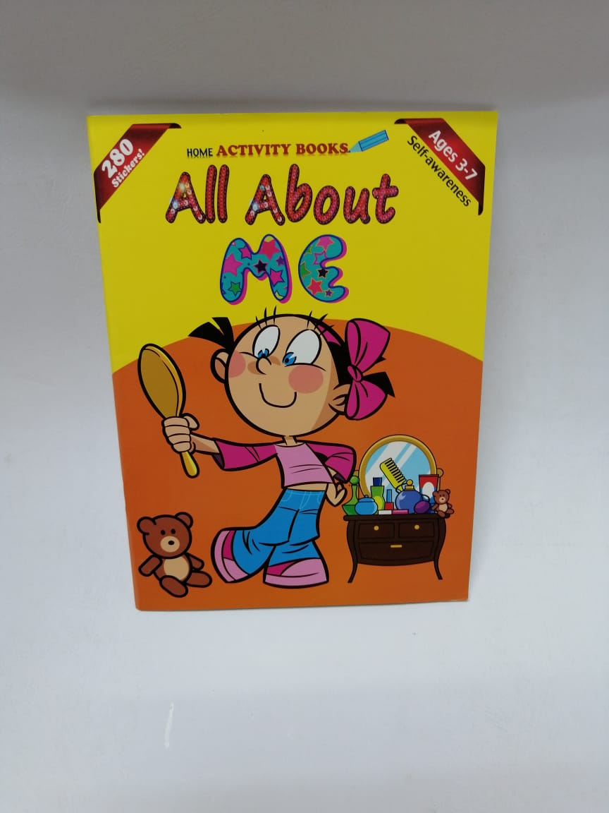 All About Me Activity Books