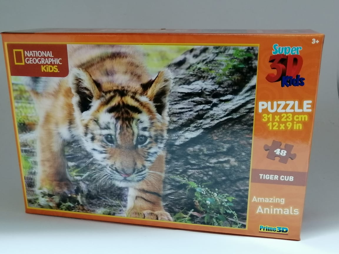 National Geographic Cub Puzzle