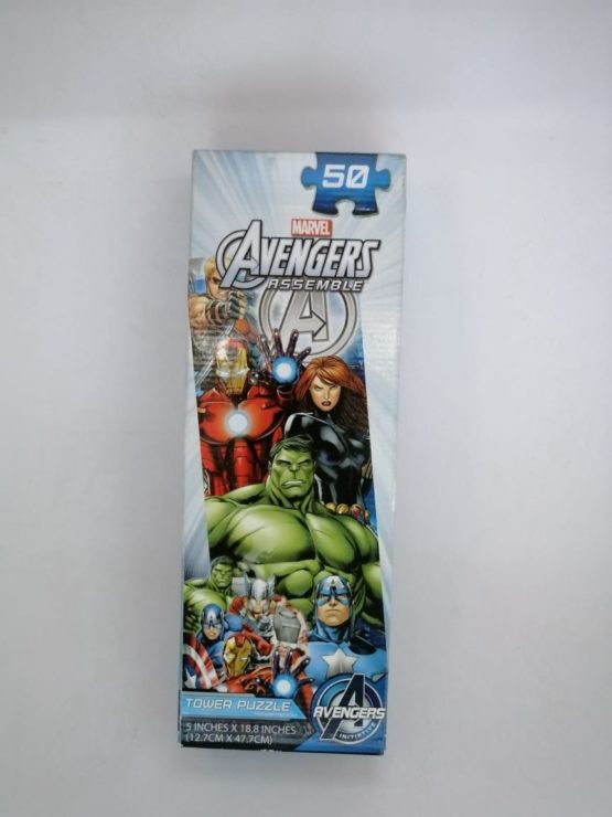 Marvel Avengers Assemble Tower Puzzle