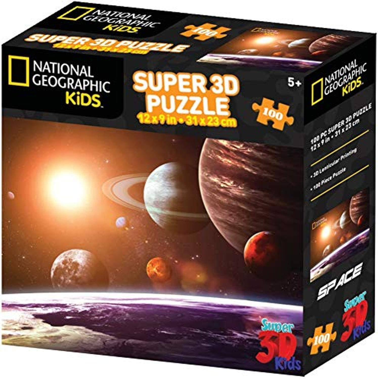 National Geographic 3D Solar System Floor Puzzle