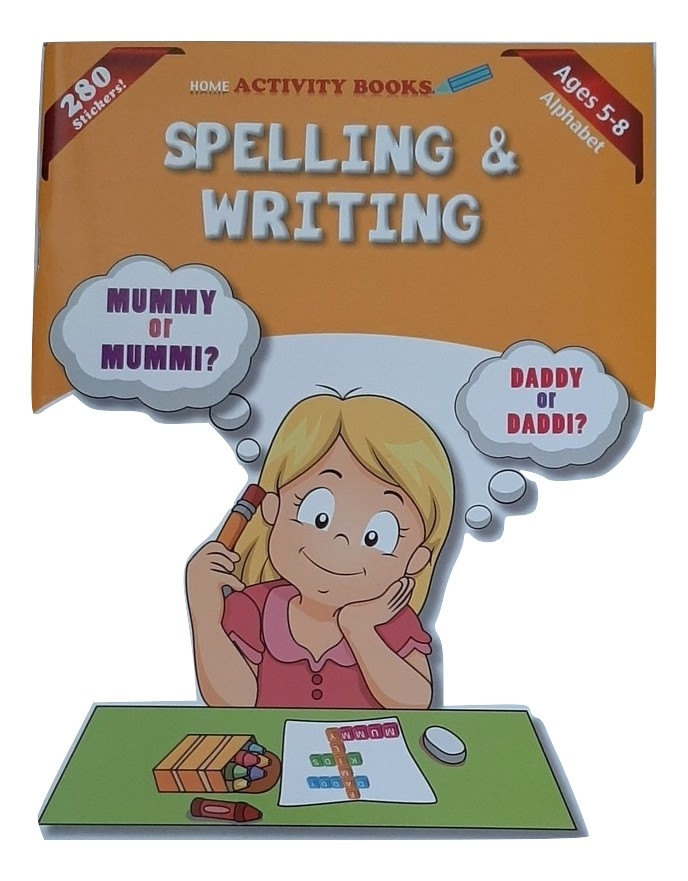 Spelling And Writing Activity Books