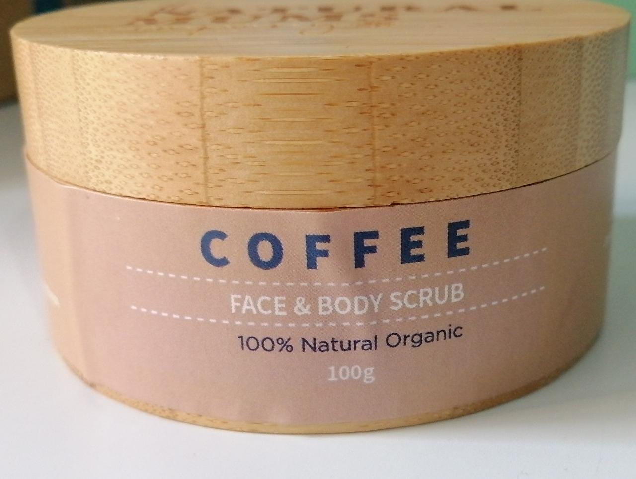 The Natural Mums Company Coffee Face and Body Scrub