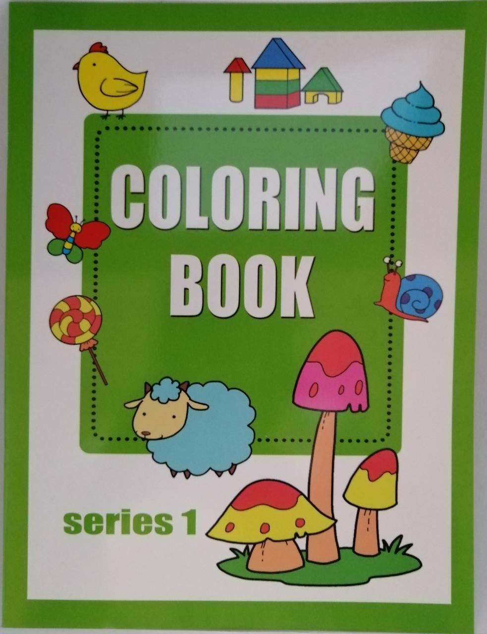 Coloring Books: Series 1