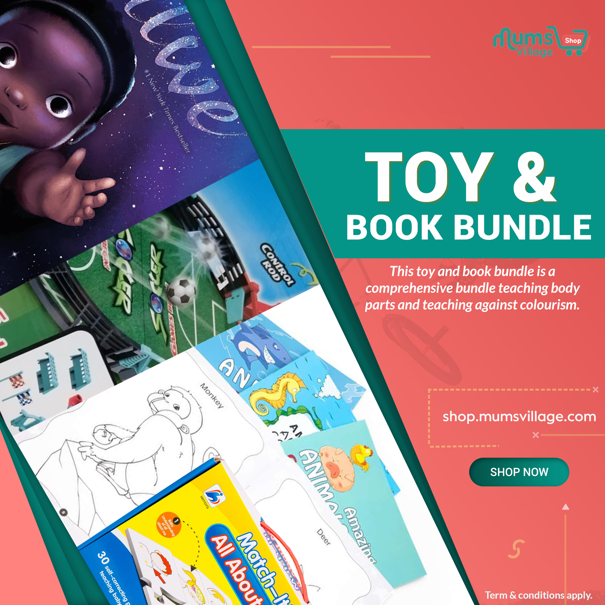 toy and book bundle