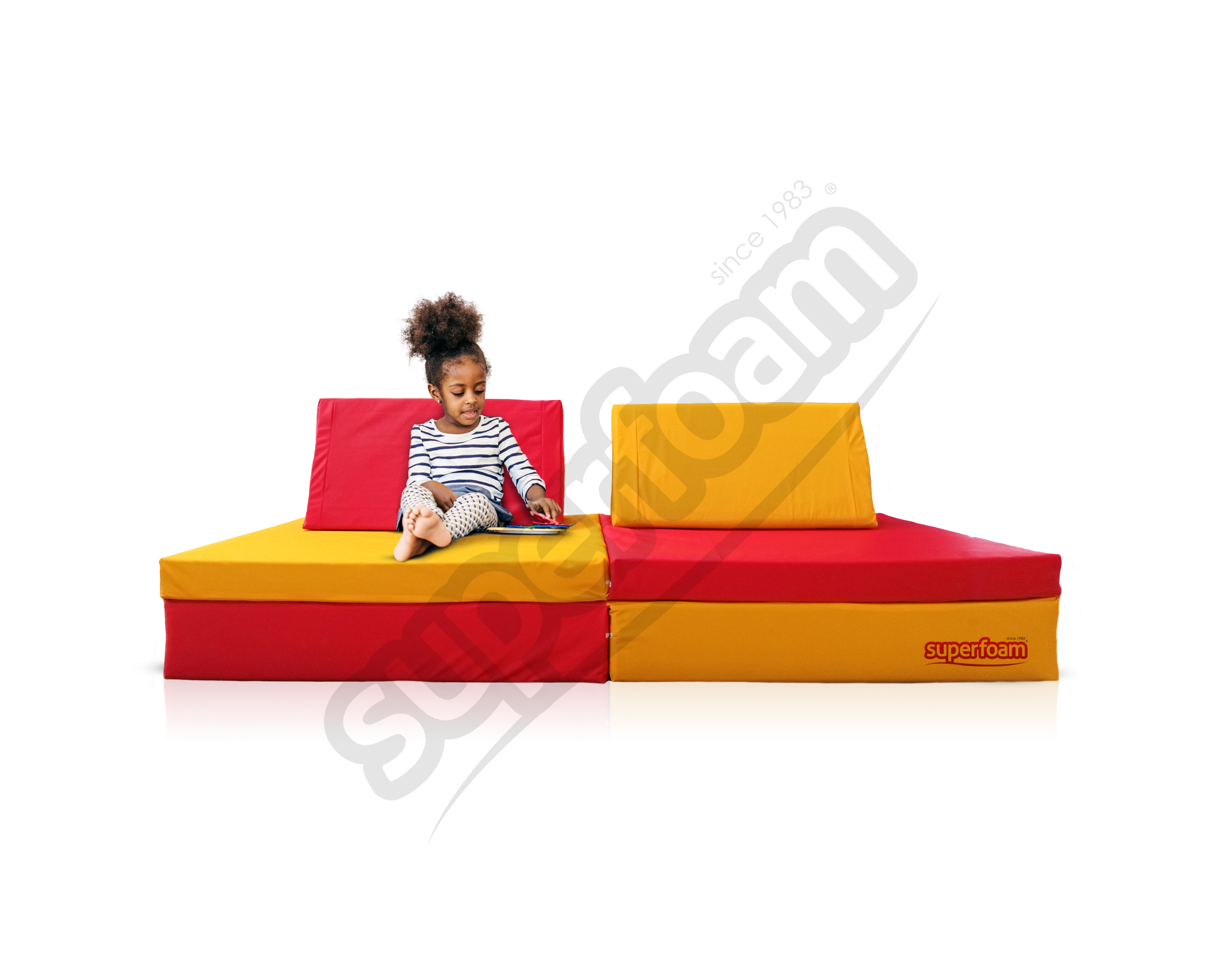 Superfoam play bed